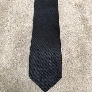 Black jcrew silk tie
